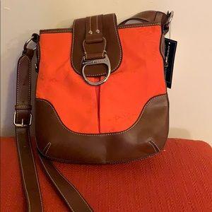 NEW! Orange crossbody bag